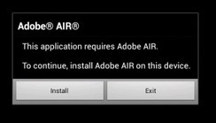 Adobe AIR Android applications move to Captive Runtime | Everything about Flash | Scoop.it