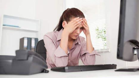 Le stress du boulot altère votre sommeil -   sommeil chez l'adulte   Scoop.it