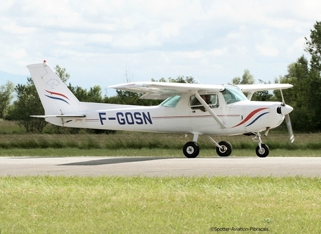 Muret-L'Herm (F): LFBR: Aero-Club Jean-Mermoz: Cessna 152 | Fantastic-shot vous recommande | Scoop.it