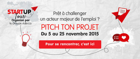 Le Groupe Adecco lance son Start Up Tour 2015 - groupe Adecco | innovation_recrutement | Scoop.it