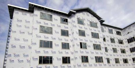 Air Leakage Testing   DuPont™ Tyvek®   DuPont USA   Aerial Data, Images, Video And Reports   Scoop.it