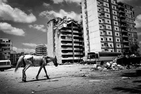 The 2006 Lebanon War | Photojournalist: Samuel Aranda | BLACK AND WHITE | Scoop.it