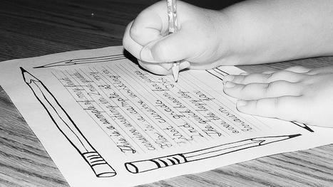 Should Schools Still Teach Cursive? | Learning & Mind & Brain | Scoop.it