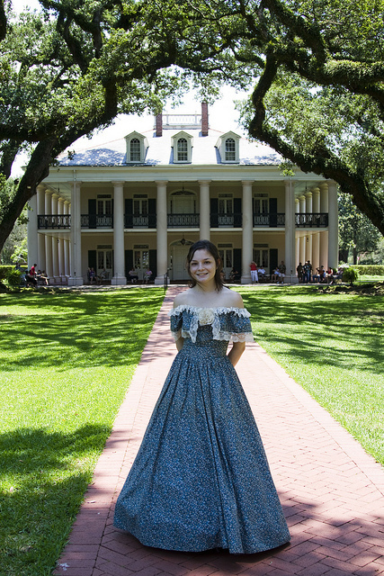 Plantation Beauty in Blue | Oak Alley Plantation: Things to see! | Scoop.it