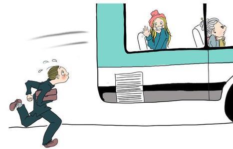 J'aime bien faire You You aux gens qui ratent le bus! | BD de filles | Scoop.it