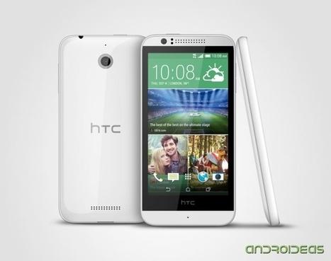 Y el primer Android de 64 bits es el HTC Desire 510 | Androideas | Scoop.it
