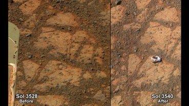 La Nasa explique l'apparition mystérieuse d'une roche sur Mars - LaPresse.ca | Infinity | Scoop.it