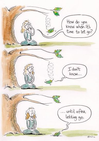 The Loving Art of Letting Go | Counselling and More | Scoop.it
