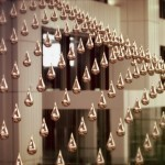 Kinetic Rain: 1,216 Computationally Controlled Bronze Raindrops at Changi Airport in Singapore | Colossal | Innovative Architecture | Scoop.it