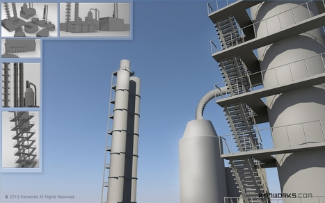Factory Design in 3D | 3D Animation | Scoop.it