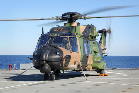 All at sea: MRH-90 takes to the waves | Marinehubschrauber | Scoop.it