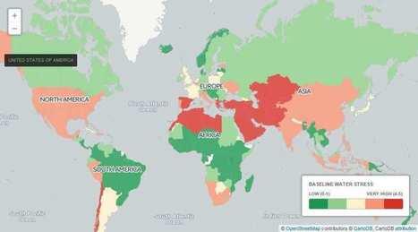 Les pays qui manqueront le plus d'eau d'ici 2040   GreenScoop   Scoop.it