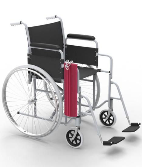 Cette rampe écolo va changer la vie des personnes en fauteuil roulant | Handicap | Scoop.it