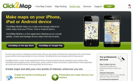Click2Map - Online Map Creator | Content Creation, Curation, Management | Scoop.it