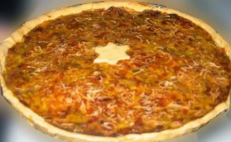 Recette de tarte au fromage d'époisses, lardons, crème (cuisine de Bourgogne) | Recettes de cuisine maison | Scoop.it