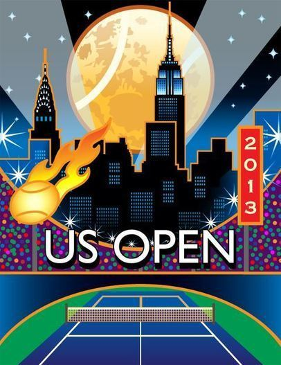 US Open 2013 : l'affiche officielle dévoilée - PKTennis | PK Tennis News | Scoop.it