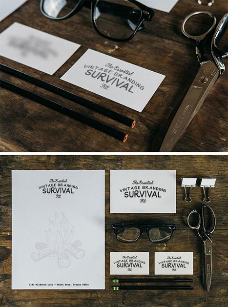 Vintage Branding MockUp | GraphicBurger | Web | Scoop.it