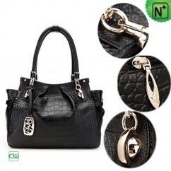 Women Black Leather Handbags CW300201   Women leather bags   Scoop.it