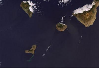 Imágenes y videos de la erupción volcánica en El Hierro   CEREGeo - Geomática   Scoop.it