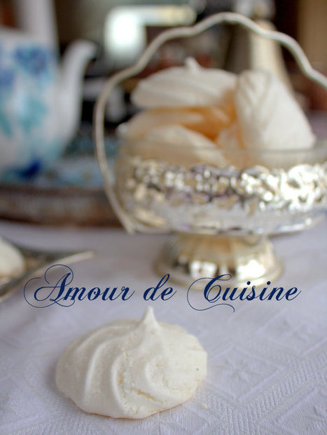 Meringues sans oeufs vegan faciles - Amour de cuisine | gateaux algeriens 2016 | Scoop.it
