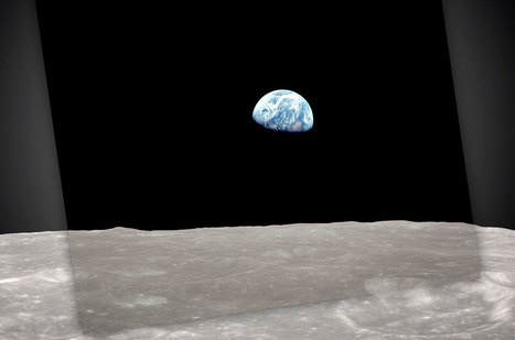 NASA Recreates Iconic Apollo 8 'Earthrise' 45 Years Later (Video) | The Art of Photography | Scoop.it