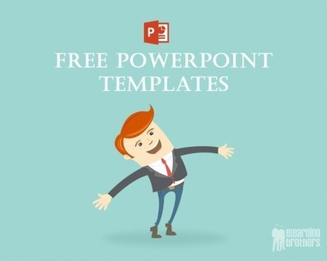 Free PowerPoint Templates for eLearning - eLearning Brothers | Educacion, ecologia y TIC | Scoop.it