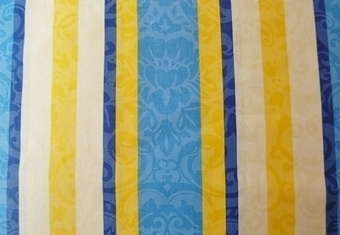 Glazed cotton stripe curtain fabric from Sundour. £2.50 per metre | Welcome to Discount Fabrics Lincs | Scoop.it