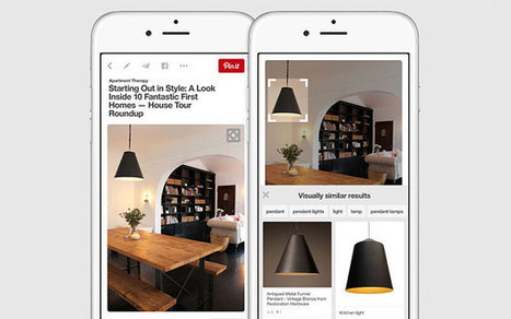 Pinterest adds 'visual search' tool for when you're unable to say what you're looking for | SOCIAL MEDIA | Scoop.it
