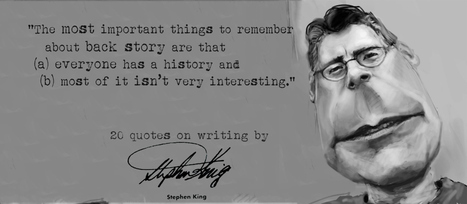 Stephen King's 20 Quotes on Writing | Creative Writing | Scoop.it