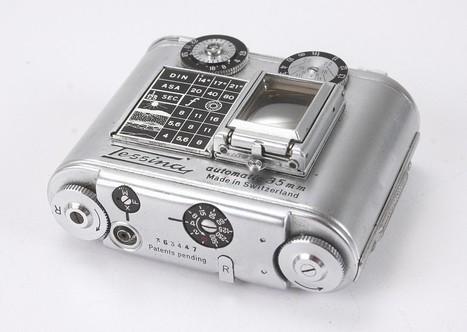 L'appareil photo bracelet de Tessina en 1957 - La boite verte   L'actualité de l'argentique   Scoop.it