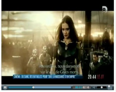 D8 - Evening News | 300 : Rise Of An Empire - TV & Web coverage | Scoop.it