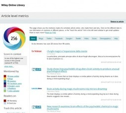 5 tips for improving your article's Altmetric score | Exchanges | Salud Publica | Scoop.it