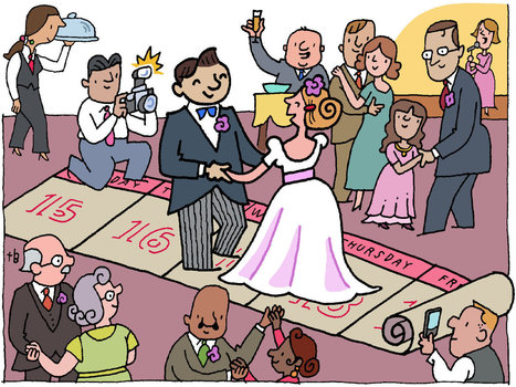 Fairy Tales Come True, Even on Monday - New York Times | Love Weddings | Scoop.it