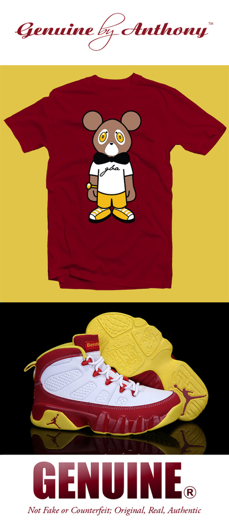 Genuine By Anthony – Sir Teddy Tee Available | Genuine by Anthony | Fashion . Art . Music . Entertainment | Scoop.it