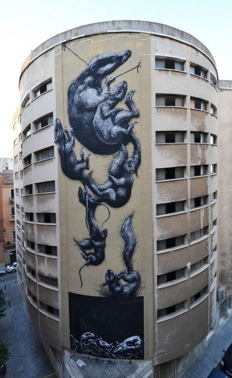 ROA | dans l'art du temps | Scoop.it