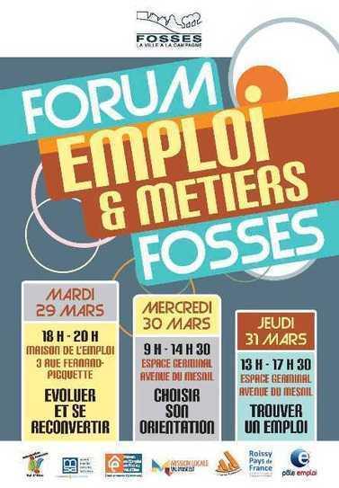 Forum Emploi et Métiers- Fosses 95 | Infos en Val d'Oise | Scoop.it