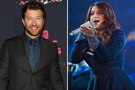 Brett Eldredge, Meghan Trainor Team for Christmas Classic | Country Music Today | Scoop.it