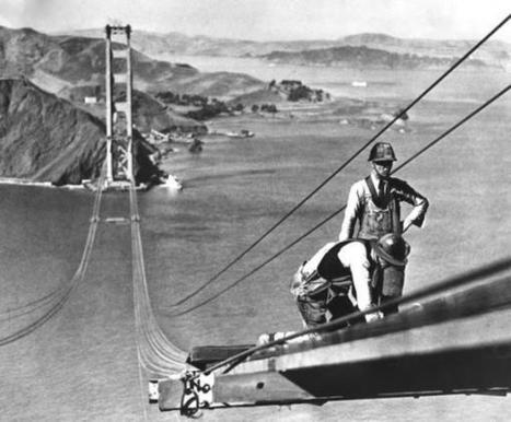 Así se construyó el puente más famoso del mundo: el Golden Gate | Ingenieros Civiles | Scoop.it