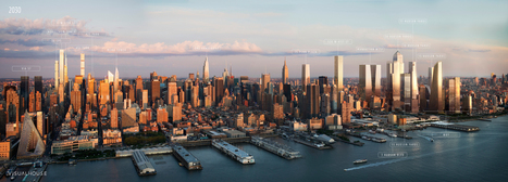 New York 2030: this annotated visualization shows us the Manhattan of the future | D_sign | Scoop.it