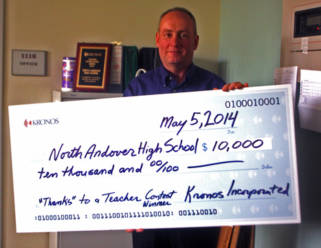 Teacher wins $10000 for robotics program - Eagle-Tribune | Teacher Tools and Tips | Scoop.it