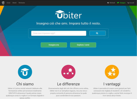 Ubiter, il social network di e-learning made in Italy | SocialMediaLife | Scoop.it