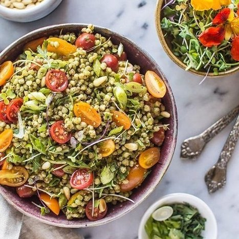 Sorghum Is the New Quinoa! 3 Top Chefs Share Their Most Mouthwatering Recipes | Food Trends & News | Scoop.it