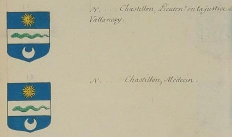 La famille CHATILLON de Valançay | Rhit Genealogie | Scoop.it