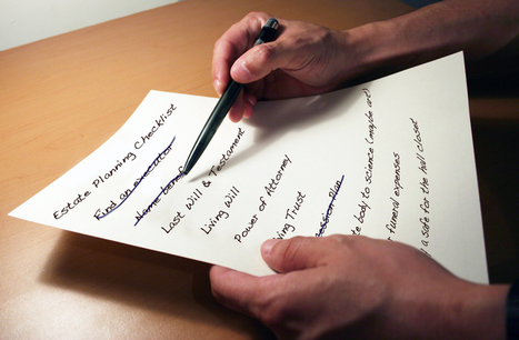 Your estate planning checklist 10 things to do before you die family