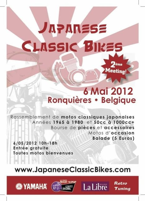 The Japanese Classic Bikes meeting | Classic Motorbike | Scoop.it