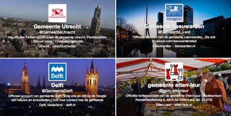 Burgers en gemeenten weten elkaar nog niet te vinden op Twitter - Marketingfacts | Webcare | Scoop.it