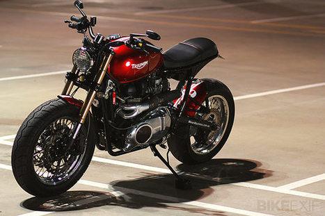 Triumph Bonneville by MeanMachines   Smotra-moto.ru   Scoop.it