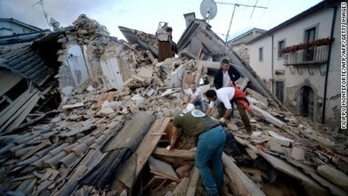 6.2-magnitude quake hits Italy: Live updates   Chain Letters from above   Scoop.it