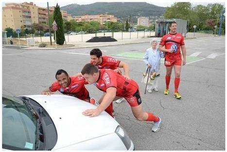 Le RCT sensibilise à la sécurité routière   Coté Vestiaire - Blog sur le Sport Business   Scoop.it
