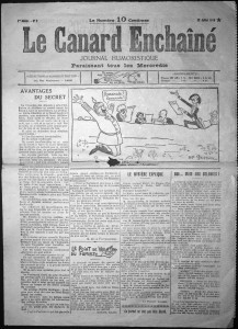 Le Canard Enchaîné n°2, 12 juillet 1916 | GenealoNet | Scoop.it